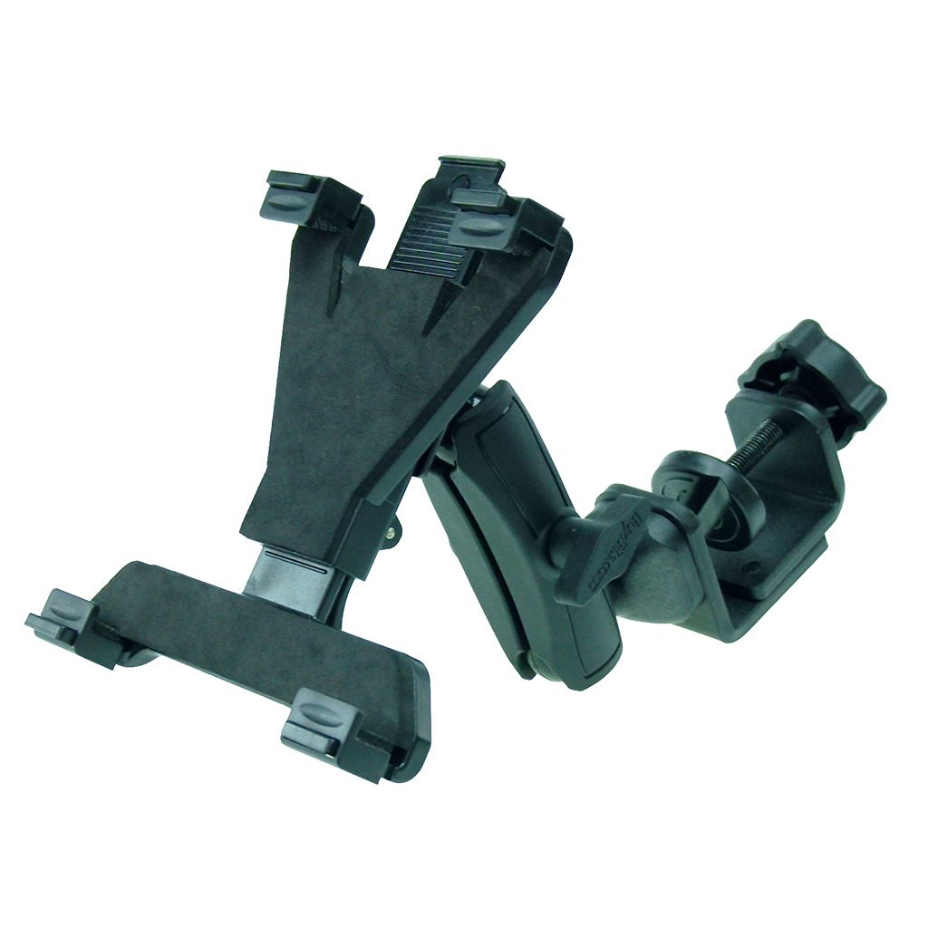 BuyBits Compact Heavy Duty C-Clamp Rail / Shelf Tablet Mount Holder for Sony Xperia Z4