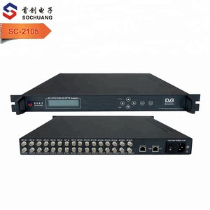 SC-2105 Digital TV Headend Hotel TV Total Solution for IPTV System Tuner to IP Gateway Converter Revceiver