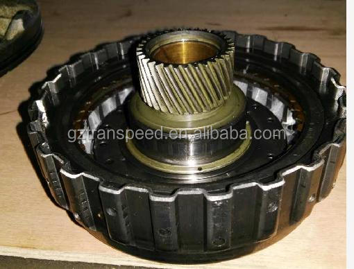 A340E transmission overdrive clutch drum assembly