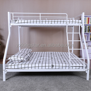 Factory Price Iron Double Decker Bed Frame Cheap Bunk Bed For Sale