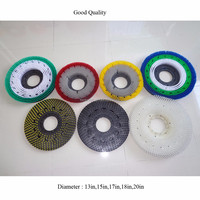 Anhui huanmei Round Floor Cleaning Disc Brush used for washing floor machine