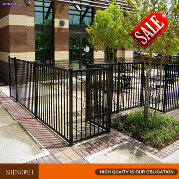 round metal fence post home depot square posts galvanized gates steel design stainless for sale