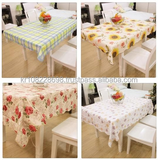 PVC Independent Table cloth in Roll pack