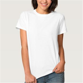 Custom 100 Cotton T Shirt Blank White Women - Buy 100 Cotton T ...