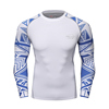 Chinese Factory Print on demand mma sublimation rash guard gym wear