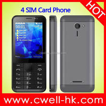 2.8 Inch TFT Screen GSM Quad Band Double Camera 4 SIM Card Mobile Phone Oeina M230
