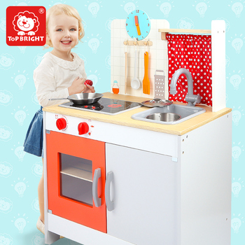 Wholesale Funny Educational Pretend Play Wooden Classic Kitchen Set Wooden Toys