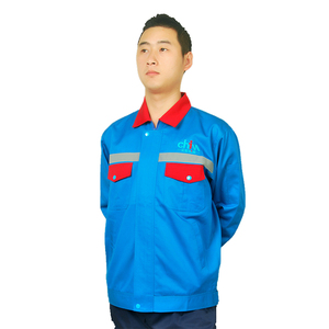 Blue Reflective Tape Men Garment Working Wear Uniform