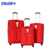 2019 Newly Design Nylon Waterproof TSA Lock China Supplier Wholesale Online Trolley Luggage Bag Travel Bags