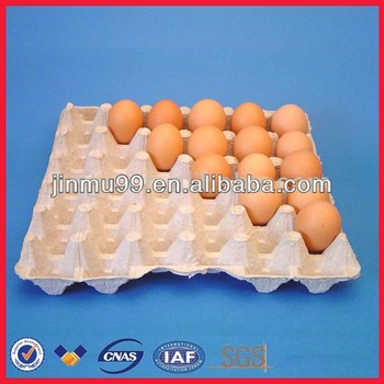 Molded paper pulp egg carton 6 in egg tray buy egg tray for How to make paper egg trays