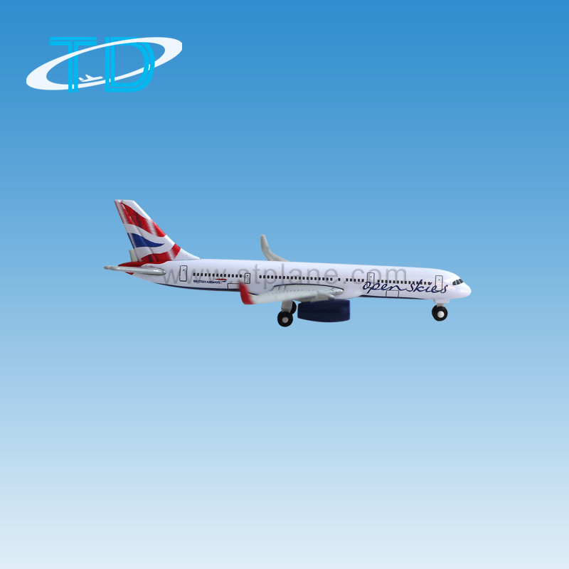 Mini Zinic Alloy 1:675 7cm B757-200 Boeing Air Model Aircraft With ...