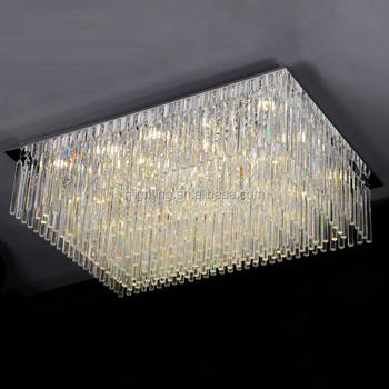 wholesale dealer 00991 12e30 Zhongshan Indoor Decorative Living Room Glass Rods Ceiling Light Modern  Crystal Rectangular Chandelier - Buy Glass Ceiling Light,Living Room  Ceiling ...