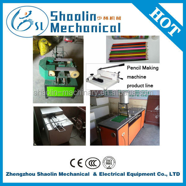 High efficency low price recycled waste paper pencil making machine with good quality
