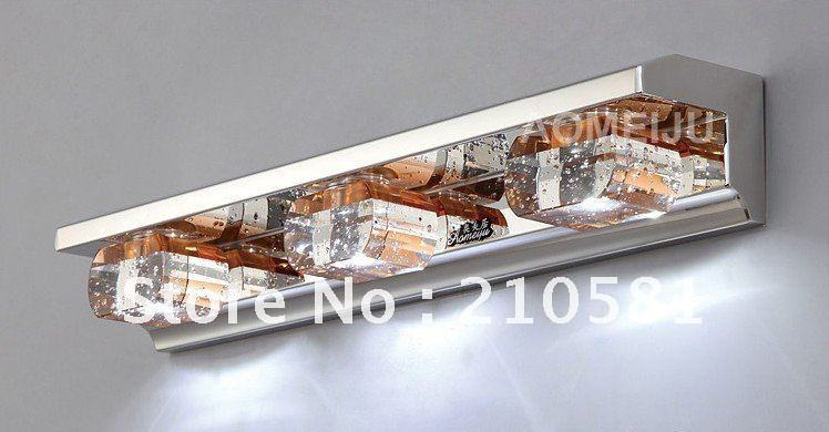 New Modern Style Brown Crystal LED Mirror Lights, LED