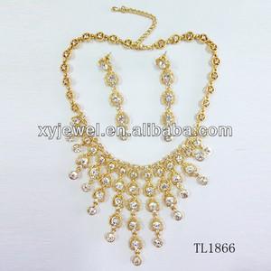 df171ab570ab0 Wholesale 22 carat gold jewelry imitation jewellery india zircon jewelry set