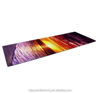 Deluxe Fitness Rollable Yoga Mat With Recycled Rubber