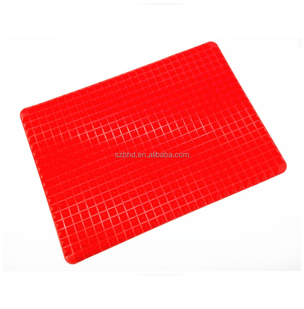 Non Stick Silicone Pyramid Chef Baking Mat For Healthy Cooking