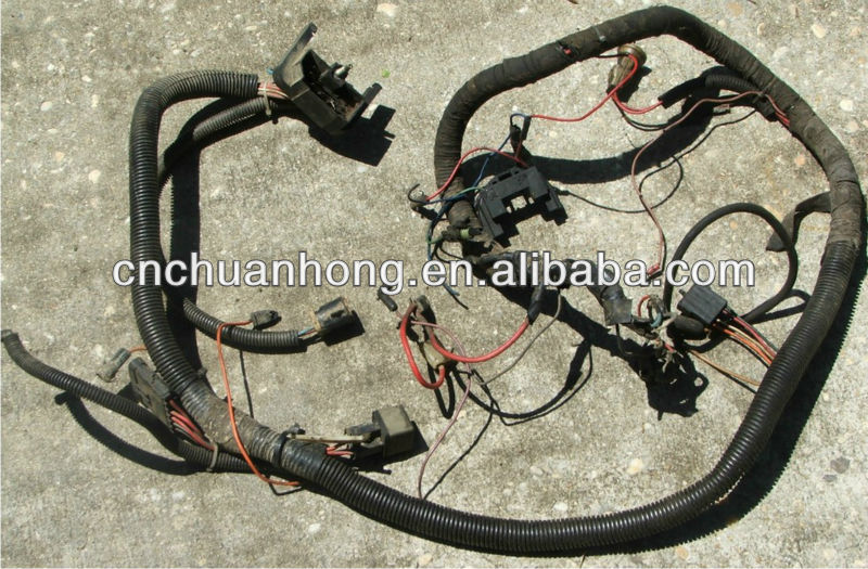 Jeep Cj7 Engine Wiring Harness : Cj jeep motor kabelbaum ratte stange andere