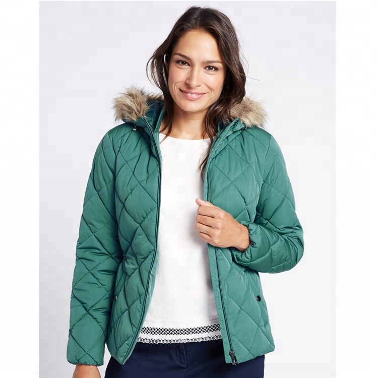 China factory price women's quilted flight padding jacket for sale