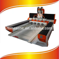 4 Axis Wood Carving Machine, 4 Head CNC router With 3D Scanner
