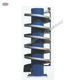 Spiral conveyor tower for bread cooling, dough transport conveyor system
