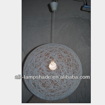 Paper string lamp shade buy ball lamp shadestring ball lamp paper string lamp shade aloadofball Gallery