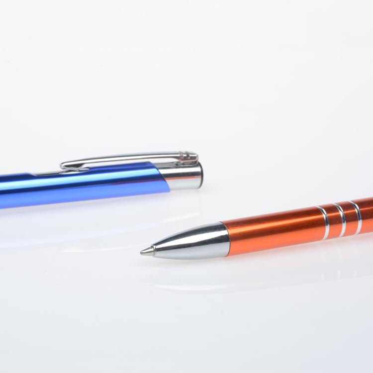 선전용 금속 펜 주문 로고 호화스러운 볼펜, 로고를 가진 주문을 받아서 만들어진 광고 선물 금속 볼펜 선전용