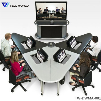 v shape interactive meeting table design buy meeting table