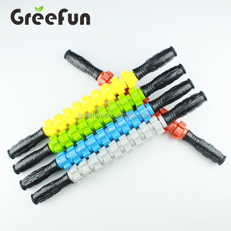 Muscle Roller Stick  Leg Cramps and Back Pain Rub Muscle  Shoulder Massage Stick Sports Massage Roller Soothing Cramps