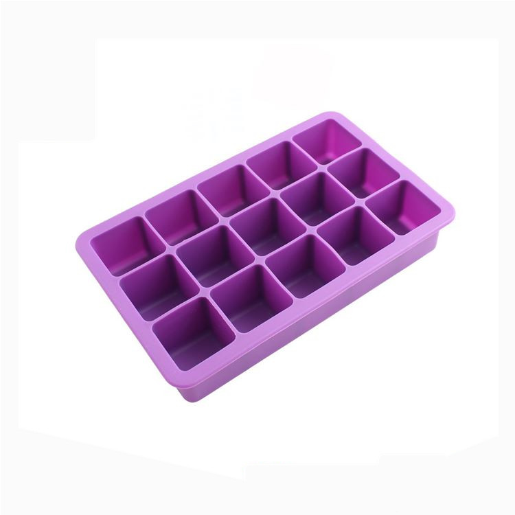 factory wholesale simple design custom made square soap making silicone mold rectangular