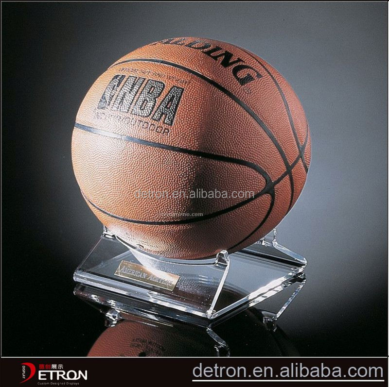Wholesale Basketball acrylic counter display racks