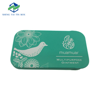 Recyclable Rectangular Metal Small Candy Tin Mini Slide Tin Box or Mint Tin Box