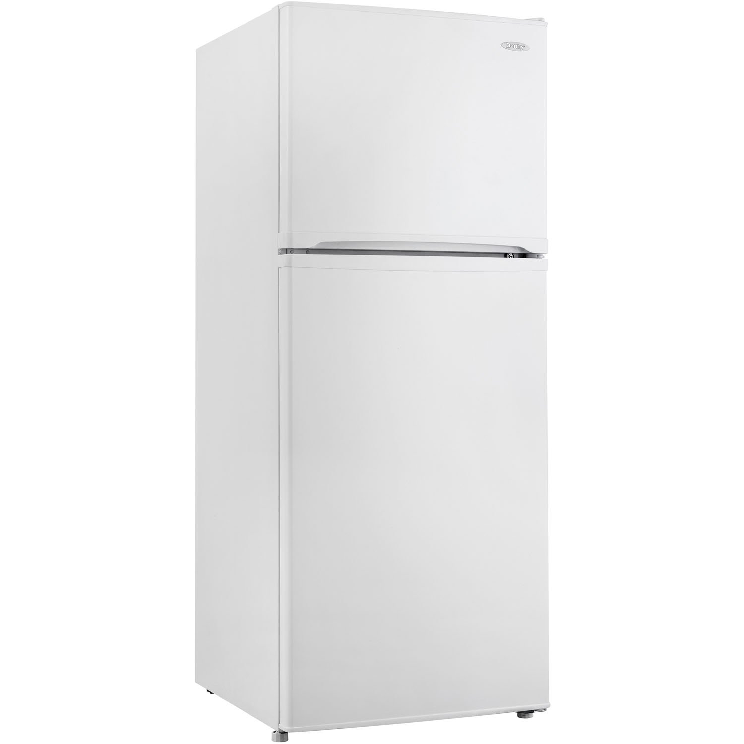 Danby DFF100C1WDB Frost-Free Refrigerator with Top-Mount Freezer, 9.9 Cubic Feet, White