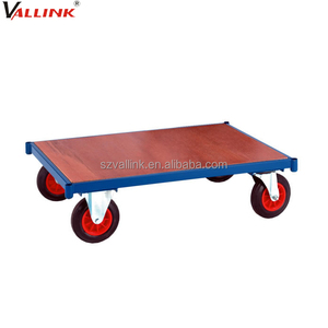 heavy duty load carbon steel structure 4 wheel furniture dolly