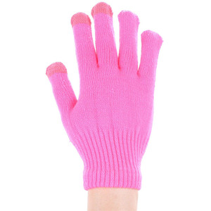 Wholesale Custom Winter Gloves Touch Screen Acrylic Gloves Mittens