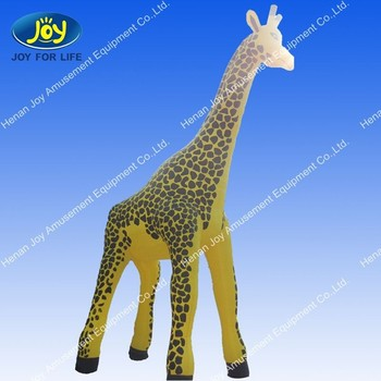 Big Inflatable Giraffe On Promotion, Inflatable Animals For Advertising