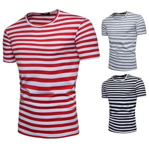 wholesale striped t-shirt for men
