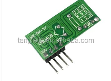 Module RF433 Transmitter + Receiver super regenerative module Wireless transmitter module
