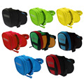 Water Resistant Bike Saddle Bag Back Seat Quakeproof Foam Bicycle Bag Rear Tail Pouch Mountain Bike