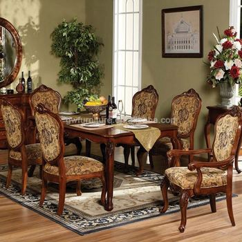 Indian Style Dining Tables - Buy Indian Style Dining Tables,French Style  Dining Room Set,Round Dining Table With Fabric Chairs Product on Alibaba.com