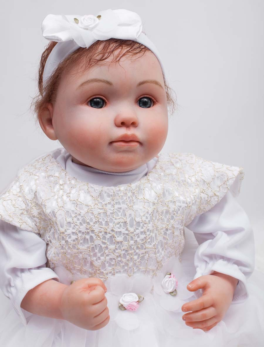 18 Inches 45cm Realistic Lifelike Reborn Baby Dolls For ... |Real Babies For Adoption