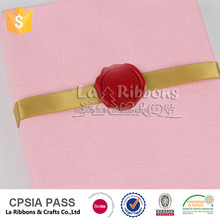 2017 New products packing letter sealing wax stamp with ribbon