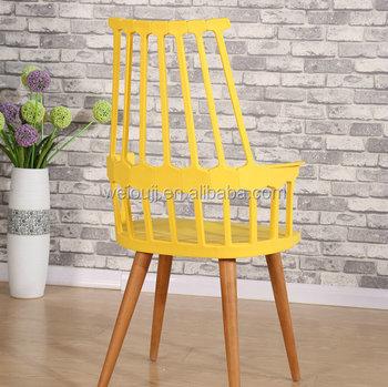 Cheap Plastic High Back Tiffany Garden Chair Like Throne