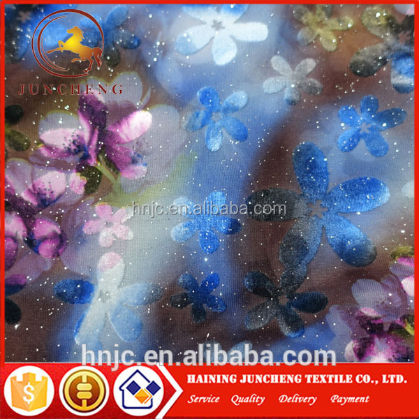 Popular new design Soft and ice hand feeling Silk Dupion Velvet Lace Fabric for summer dress and wedding dresses