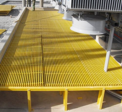 Fiberglass Decking Material : Frp grp grating deck floor fiberglass pultruded
