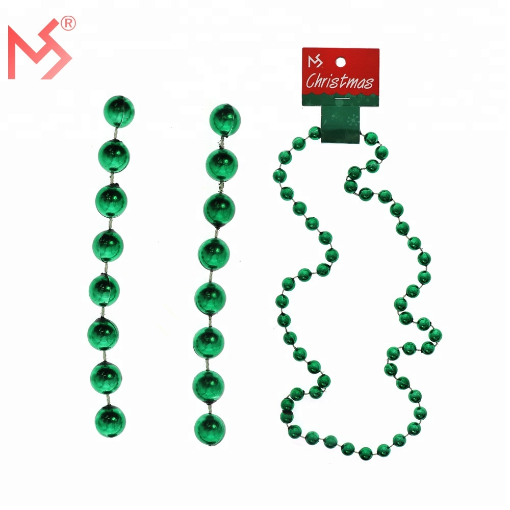 Wholesale Christmas latest design beads necklace bell necklace