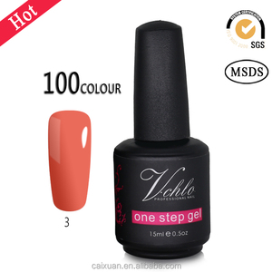 Good news! popular gel polish no base no top coat one step gel polish