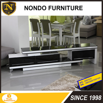 Living Room Tv Table Glass Top Wooden Long Tv Cabinet Designs Black Glass  Mirror Tv Stand