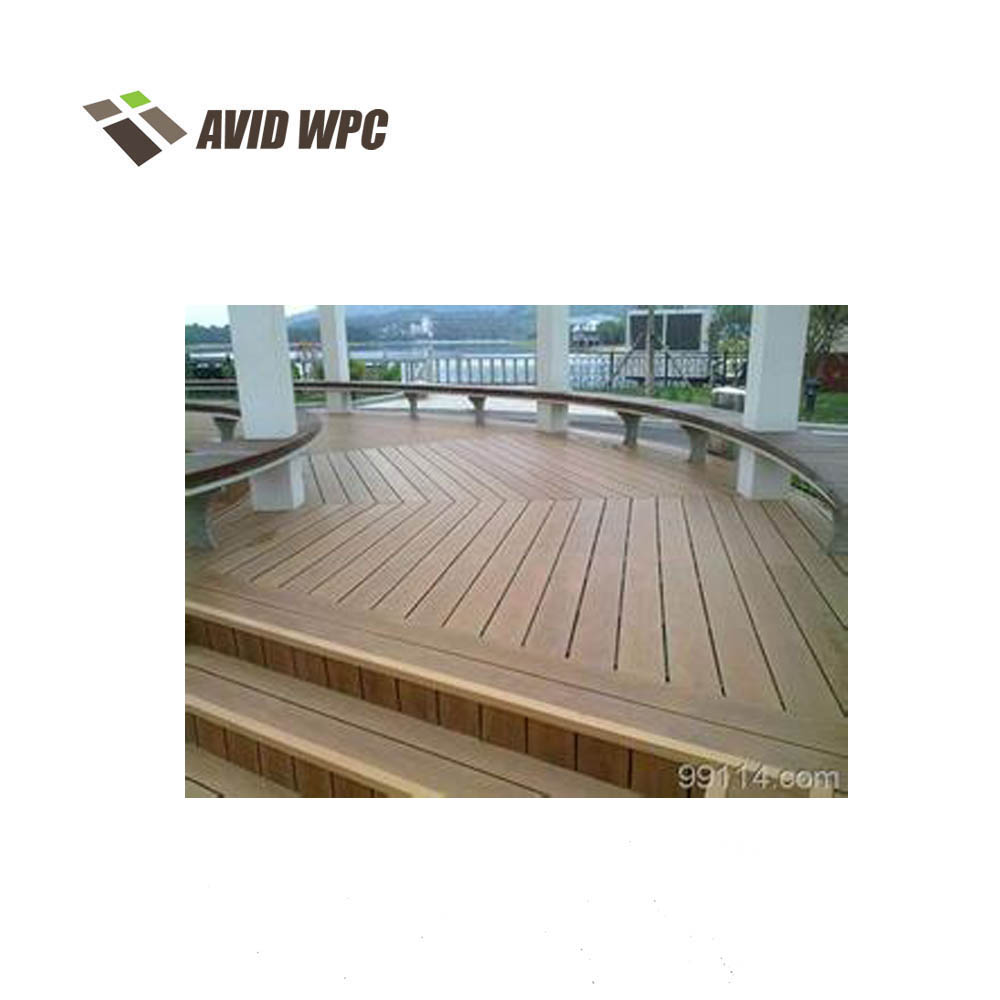 Anti-impact mouldproof bamboo engineered plastic composite decking flooring with CE certification