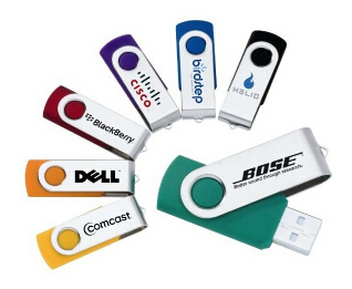 Lowest Price Promotional Gift Swivel USB Flash Drive with custom logo